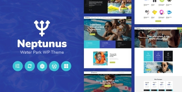 Neptunus - Water Park WordPress Theme TFx ThemeFre