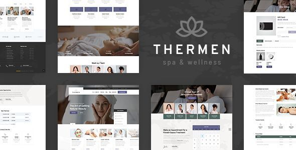 Thermen - Spa amp Wellness Center WordPress Theme TFx ThemeFre