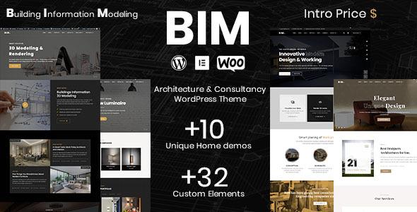BIM - Architecture Consultancy WordPress theme TFx ThemeFre
