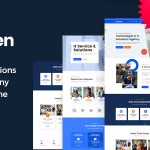 Cloven – IT Solutions Services Company WordPress Theme TFx ThemeFre