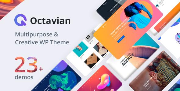 Octavian  Creative Multipurpose WordPress Theme TFx ThemeFre