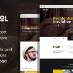 Rokwool – WordPress theme for House Insulation TFx ThemeFre