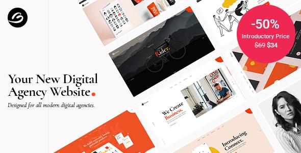 Borgholm - Marketing Agency Theme TFx WordPress ThemeFre
