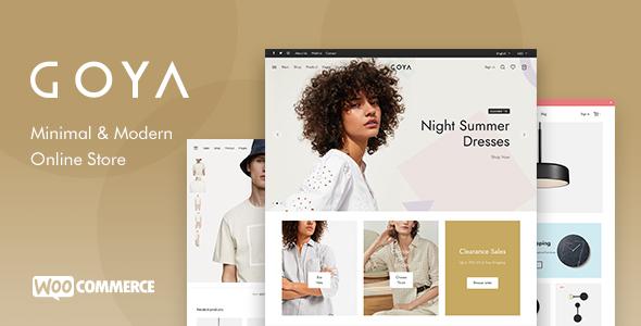 Goya - Modern WooCommerce Theme TFx WordPress ThemeFre