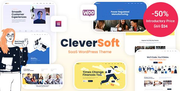 CleverSoft - SaaS WordPress Theme TFx WordPress ThemeFre