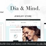 Diamind – Jewelry amp Watch Store TFx WordPress ThemeFre