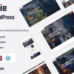 Industrie – Industry WordPress Theme TFx ThemeFre
