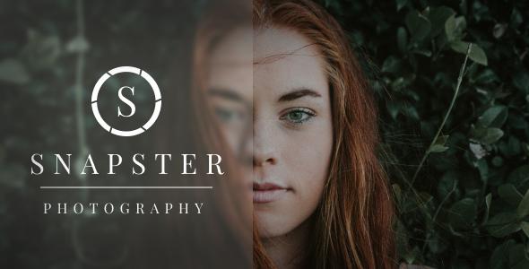 Snapster - Photography WordPress TFx WordPress ThemeFre