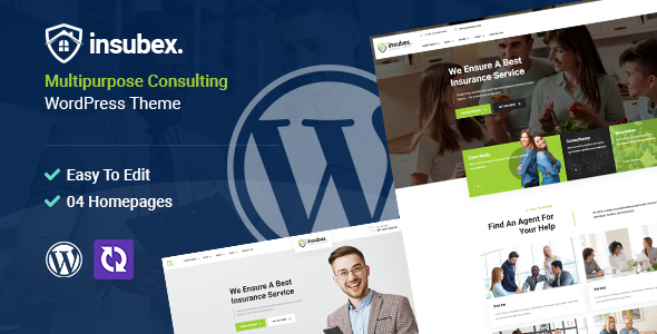 Insubex  Multipurpose Consulting WordPress Theme TFx ThemeFre
