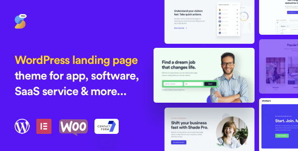 ShadePro - Startup amp SaaS WordPress Theme TFx ThemeFre