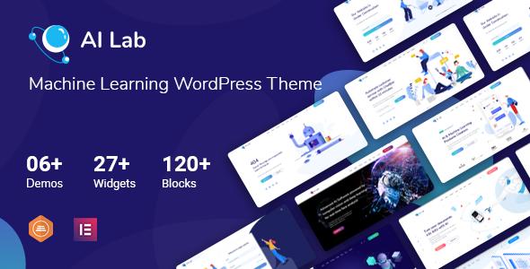 AI Lab - Machine Learning WordPress Theme TFx ThemeFre