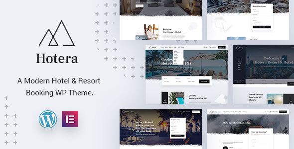Hotera  Resort and Hotel WordPress Theme TFx ThemeFre