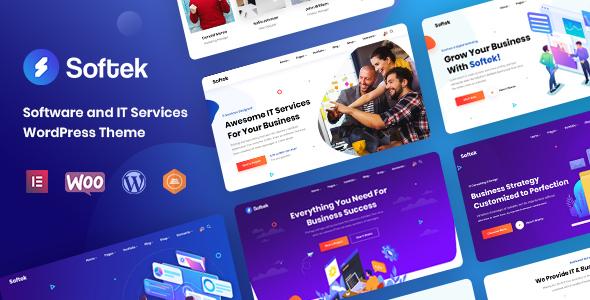 Softek - Software amp IT Solutions WordPress Theme TFx ThemeFre