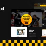 Conexi – Online Taxi Booking Service WordPress Theme TFx ThemeFre
