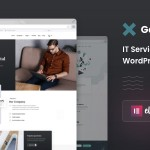 Gase – IT Services amp Business WordPress Theme TFx ThemeFre