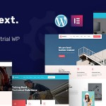 Indext – Industrial Business WordPress Theme TFx ThemeFre