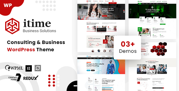 Intime - Business Consulting WordPress TFx ThemeFre