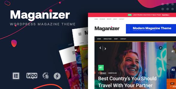 Maganizer - Modern Magazine WordPress Theme TFx ThemeFre