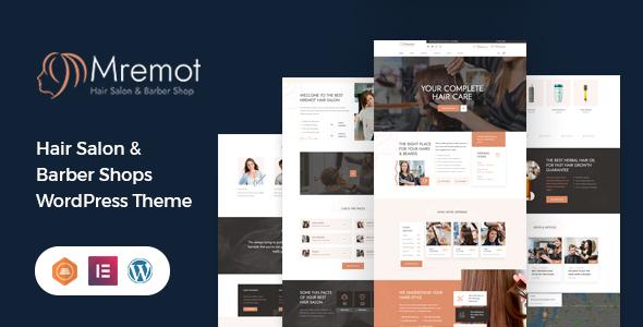 Mremot - Hair Salon Shop WordPress Theme TFx ThemeFre
