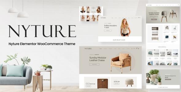 Nyture - Elementor WooCommerce Theme TFx ThemeFre