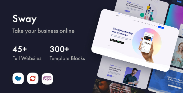 Sway - Multi-Purpose WordPress Theme with Page Builder TFx ThemeFre