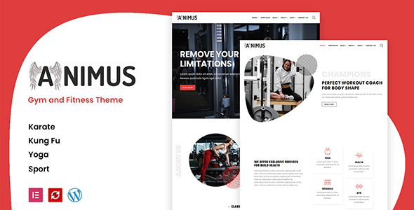 Animus - Gym and Fitness Theme TFx WordPress ThemeFre