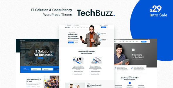 BngTech - IT Solutions WordPress Theme TFx ThemeFre
