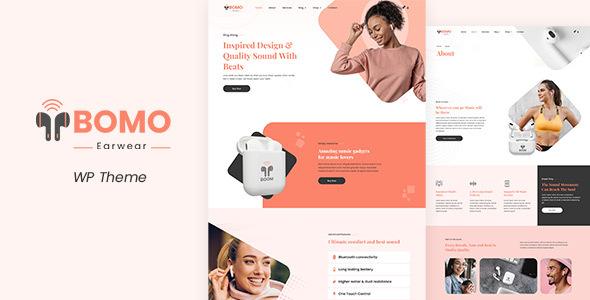 Bomo - One Product Shop TFx WordPress ThemeFre