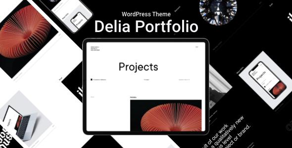 Delia  WordPress Theme For Freelancer TFx ThemeFre