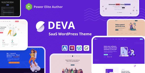 Deva - Saas WordPress Theme TFx WordPress ThemeFre