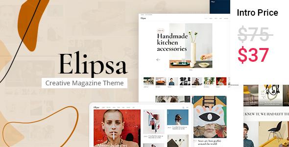 Elipsa - Creative Magazine Theme TFx WordPress ThemeFre