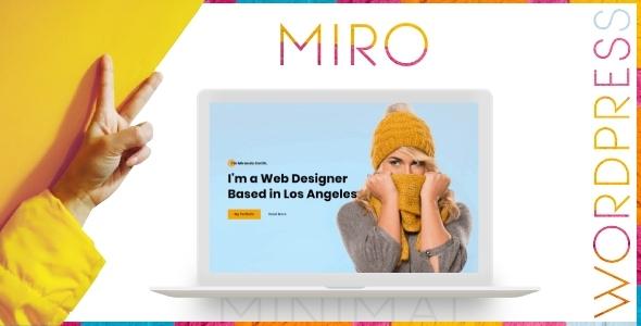 Miro - Personal Portfolio WordPress Theme TFx ThemeFre