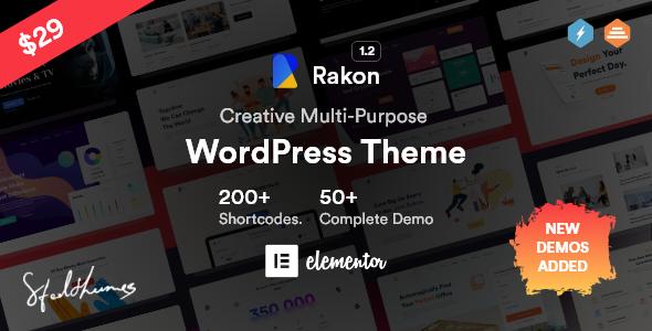 Rakon - Creative Multi-Purpose WordPress Theme TFx ThemeFre