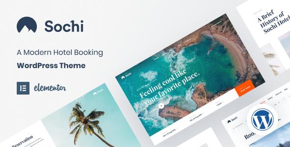 Sochi - Resort Hotel Theme TFx WordPress ThemeFre