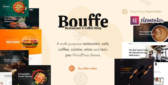 Bouffe - Restaurant amp Cafe WordPress Theme TFx ThemeFre
