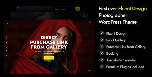 Marshmallow - Photographer WordPress Theme TFx ThemeFre