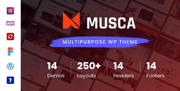 Musca - Multipurpose WordPress theme TFx ThemeFre