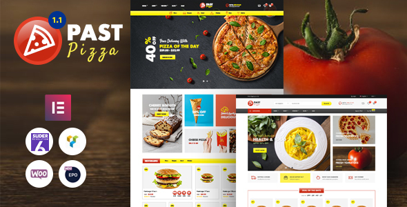 Past - Pizza and Fast Food WooCommerce Theme TFx ThemeFre