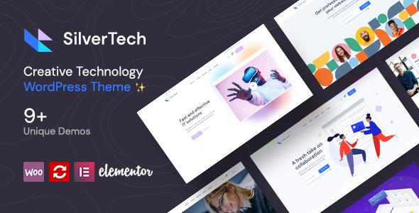 Silvertech - Creative WordPress Theme TFx ThemeFre