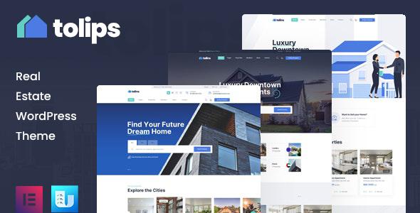 Tolips - Real Estate WordPress Theme TFx ThemeFre