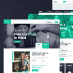 Halpes – Nonprofit Charity WordPress Theme TFx ThemeFre