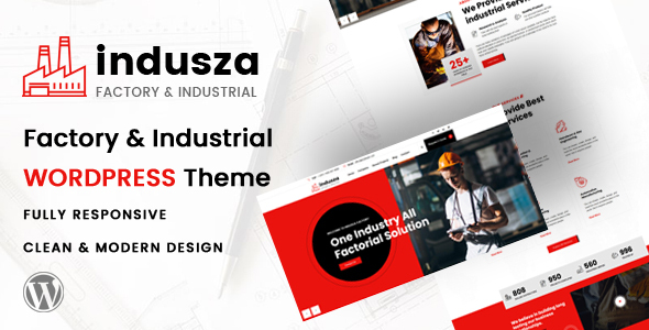 Indusza - Industrial amp Factory WordPress TFx ThemeFre