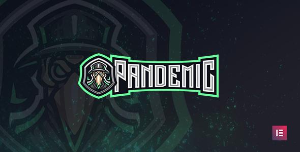 Pandemic - Esports Gaming WordPress Theme TFx ThemeFre
