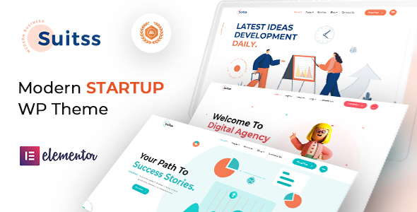 Suitss  Startup Business WordPress theme TFx ThemeFre
