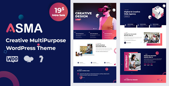 Asma - Creative Agency WordPress Theme TFx ThemeFre