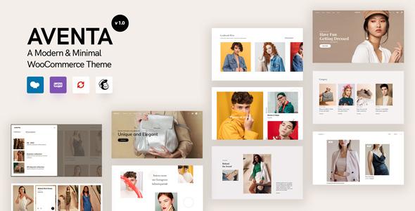 Aventa - Minimal WooCommerce theme TFx ThemeFre