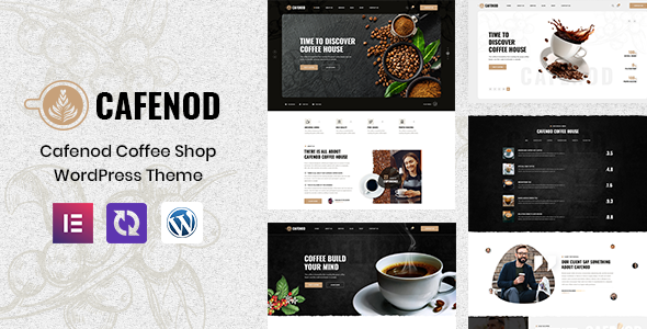Cafenod - Coffee Shop WordPress Theme TFx ThemeFre