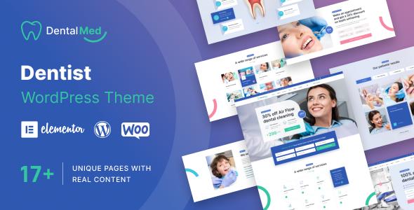 DentalMed - Dentist Clinic WordPress Theme TFx ThemeFre