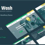DirtyWash  Laundry Service WordPress Theme TFx ThemeFre