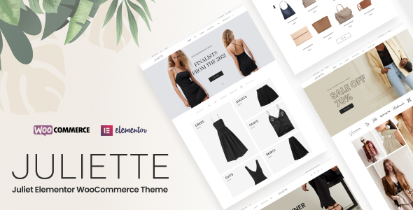 Juliette - Elementor WooCommerce Theme TFx ThemeFre